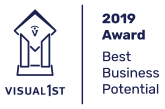 Visual 1st Best Business Potential 2019 Award Winner